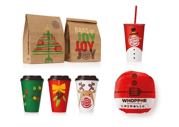 Burger King_vánoční menu