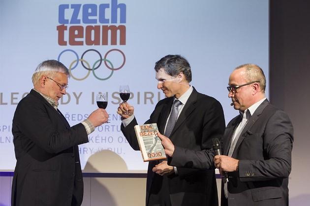 Křest knihy Emil Běžec od Pavla Kosatíka, foto: ČOV 2015/Markéta Navrátilová
