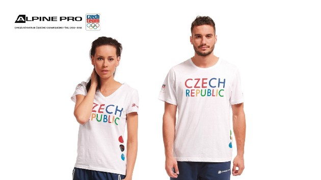 Trička, první kus oblečení z kolekce pro OH v Riu od Alpine Pro