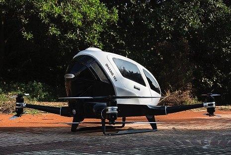 Ehang, dron pro přepravu lidí