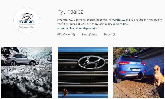 Instagram Hyundai