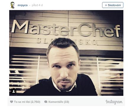 Repro z Instagramu Martina Pyco Rauscha.