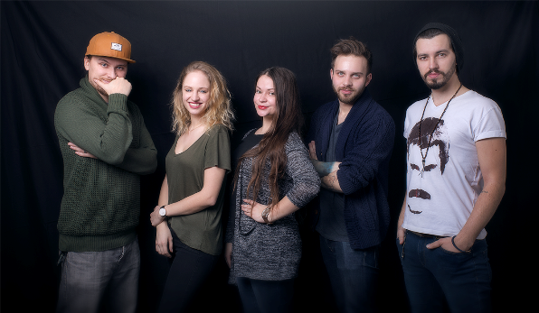 Nové tváře v Triad Advertising (zleva): Lukáš Kellner, Karolína Dostálová, Kateřina Krobová, Štěpán Svoboda a Karel Kříž