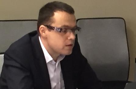 Miloš Růžička na středečním setkání s novináři.