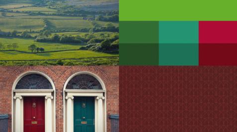 Inspirace a vzor pro Irsko
