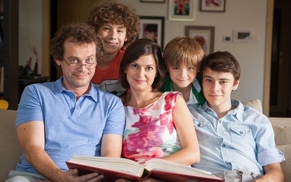 Ze seriálu Naši, foto: TV Joj.