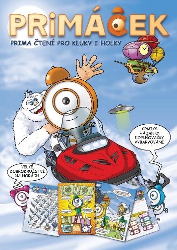 Titulní strana časopisu Primáček.