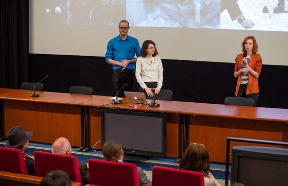 Prezentace vítězného scénáře The Lynching, foto: Česká televize