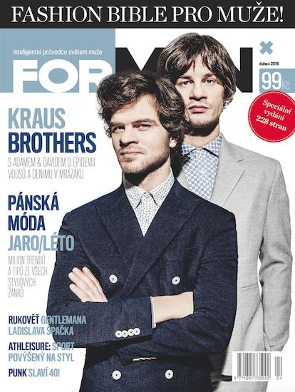 Třetí vydání ForMen Fashion Bible pro muže