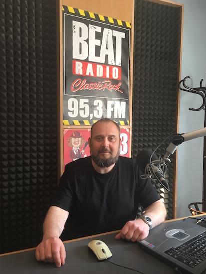 Petr Kolínko, nový šéf rádia Beat