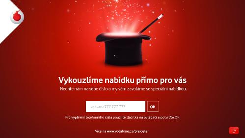 Vodafone_HbbTV_zadani telefonniho cisla