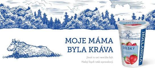 Klíčový vizuál jarní kampaně značky Hollandia