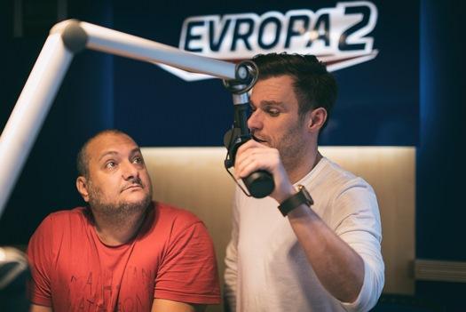 Patrik Hezucký a  Leoš Mareš, foto: Evropa 2