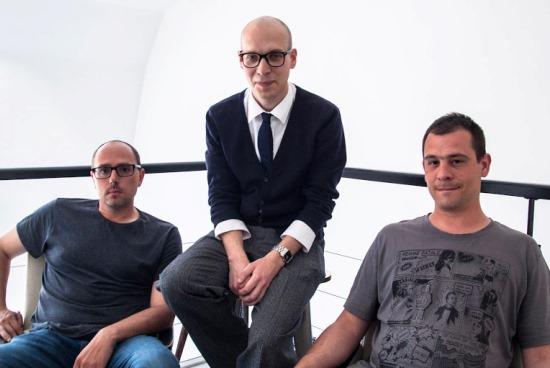 Nové tváře agentury Loosers (zleva): Miroslav Jirkovský, Vít Kořínek, Tomáš Nestarec
