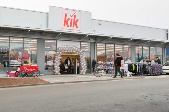 KiK - nová prodejna