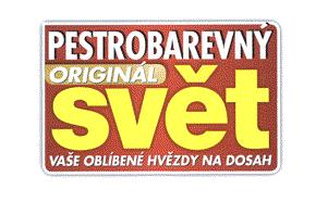 Logo značky Pestrobarevný svět od RF Hobby.