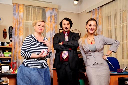 Sabina Remundová, Pavel Liška, Barbora Poláková. Foto: Česká televize
