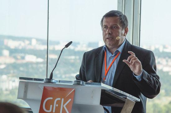 Generální ředitel GfK Czech a GfK Slovakia Tomáš Drtina