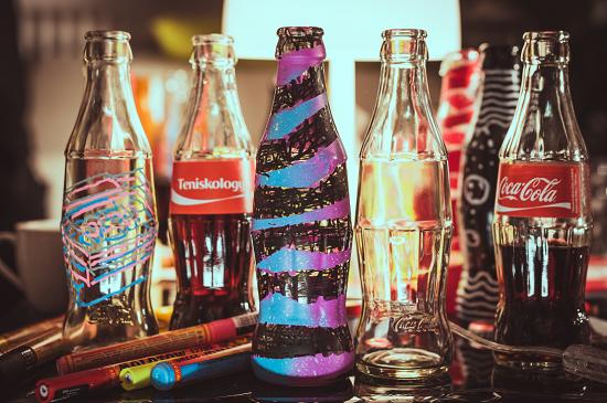 Coca Cola lahve