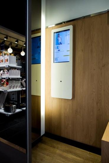 Chytrá převlékácí kabinka poradí, jak dané zboží sladit.