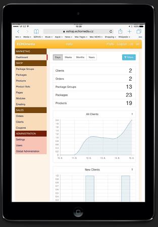 Systém lze ovládat z tabletu i mobilu.