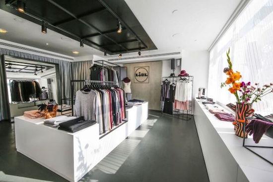 Pop-obchůdek Lidlu s nabídkou módních kolekcí
