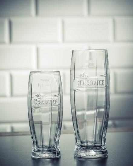 Nové sklo Krušovice od Ronyho Plesla