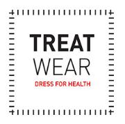 Logo nové značky prádla Treat Wear