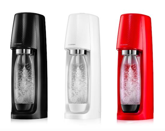 SodaStream uvádí na trh nový výrobník Spirit.