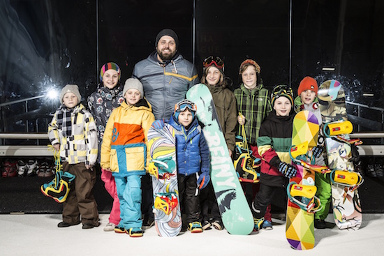 Roman Blažek s týmem dětských ambasadorů