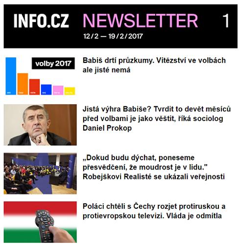 info-cz-newsletter