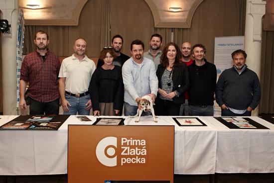 Porota soutěže Prima Zlatá pecka 2016