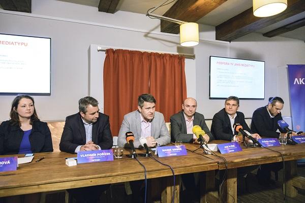 Tisková konference nové asociace, foto: AKTV