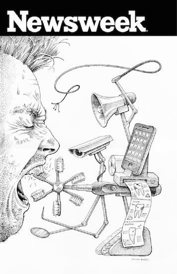 ilustrace-michal-bacak-pro-newsweek