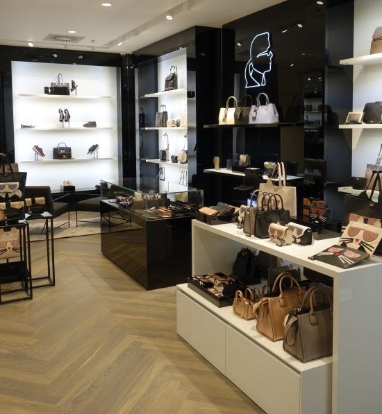 Interiér obchodu Karl Lagerfeld (zdroj: Vermont Holding)