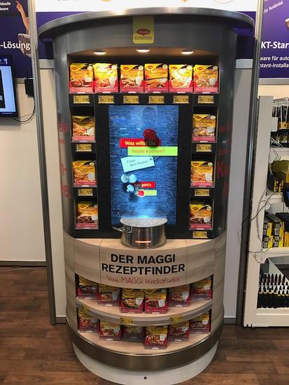 Maggi automat na recepty (zdroj: DAGO)