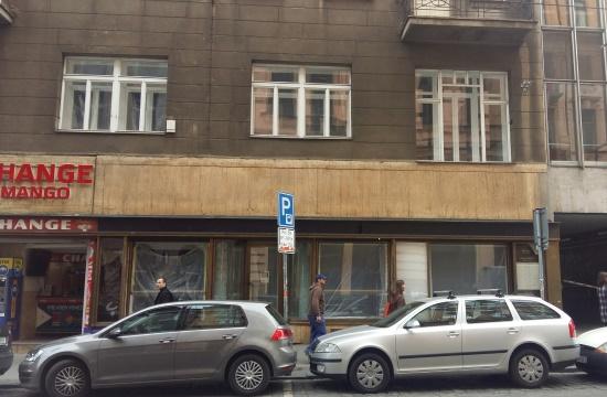 Původní místo restaurace NaGrilu v Jindřišské ulici v Praze