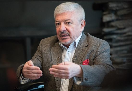 Vladimír železný na tiskové konferenci, foto: S&P Broadcasting