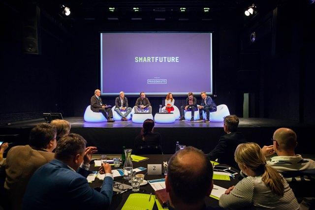 Z konference Cyhtrá budoucnost Česka (foto: Top Vision)