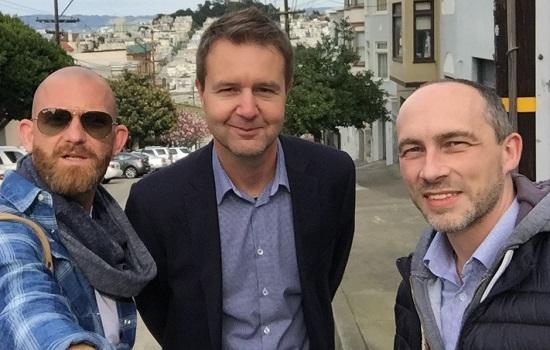 Roman Stolejda, Pavel Lupjan a David Bauckmann