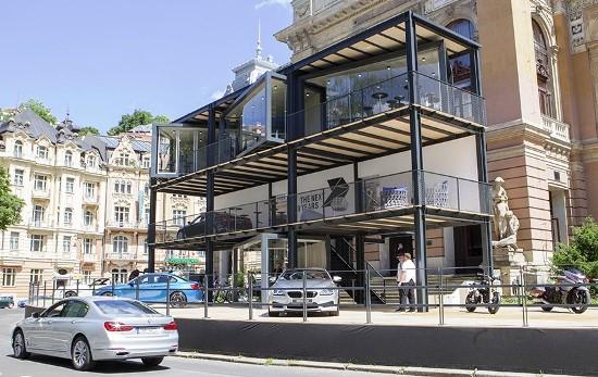 BMW Lounge z roku 2016 (zdroj: BMW)