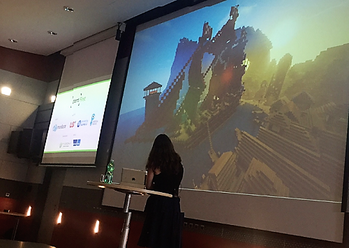 Martina Kohutová na konferenci Content First