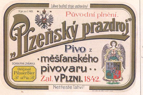 Etiketa z roku 1908
