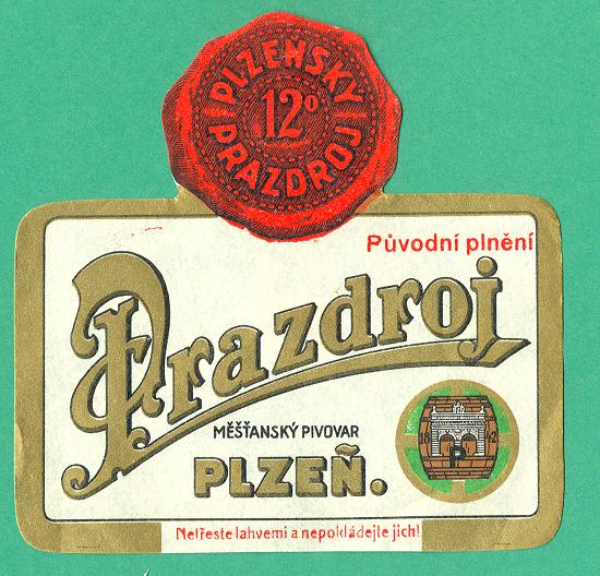 Etiketa z roku 1935