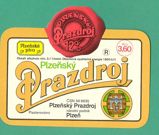 Etiketa z roku 1980