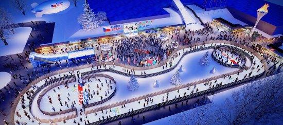 Podoba Olympijského parku v Ostravě