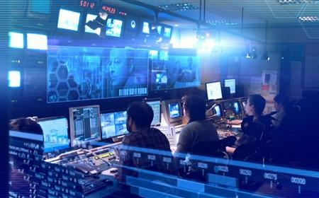 Newsroom ČT24, foto: Česká televize
