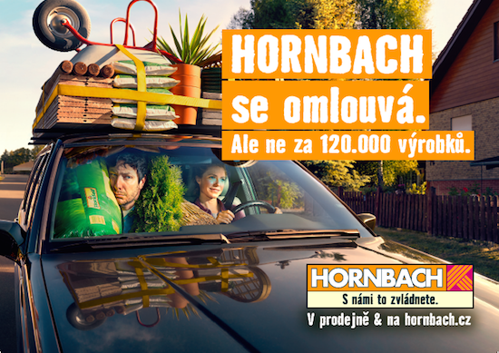 hornbach spustil omlouvac reklamn kampa mediaguru. Black Bedroom Furniture Sets. Home Design Ideas