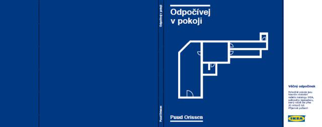 Ukázka přebalu katalogu z guerillové akce IKEA