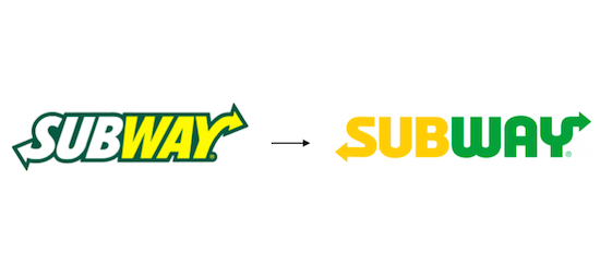 Subway: změna loga
